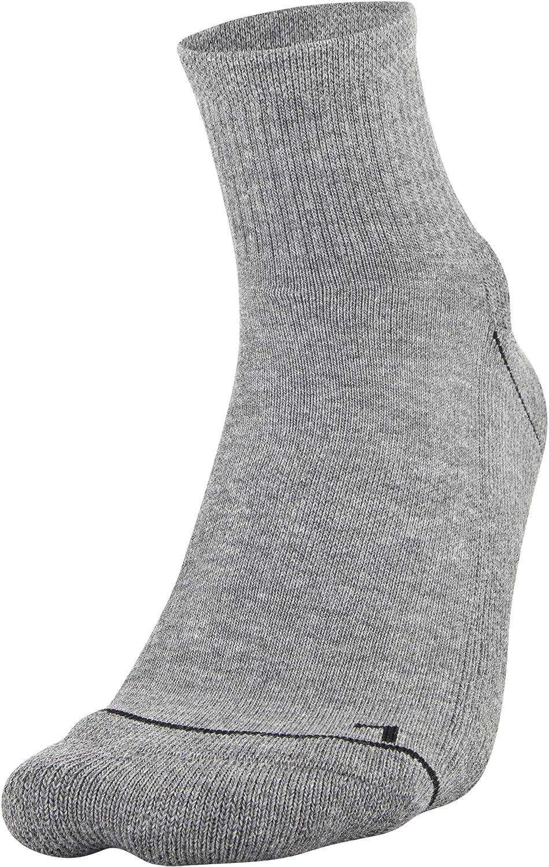 3-Pairs Under Armour Adult Phenom Quarter Socks
