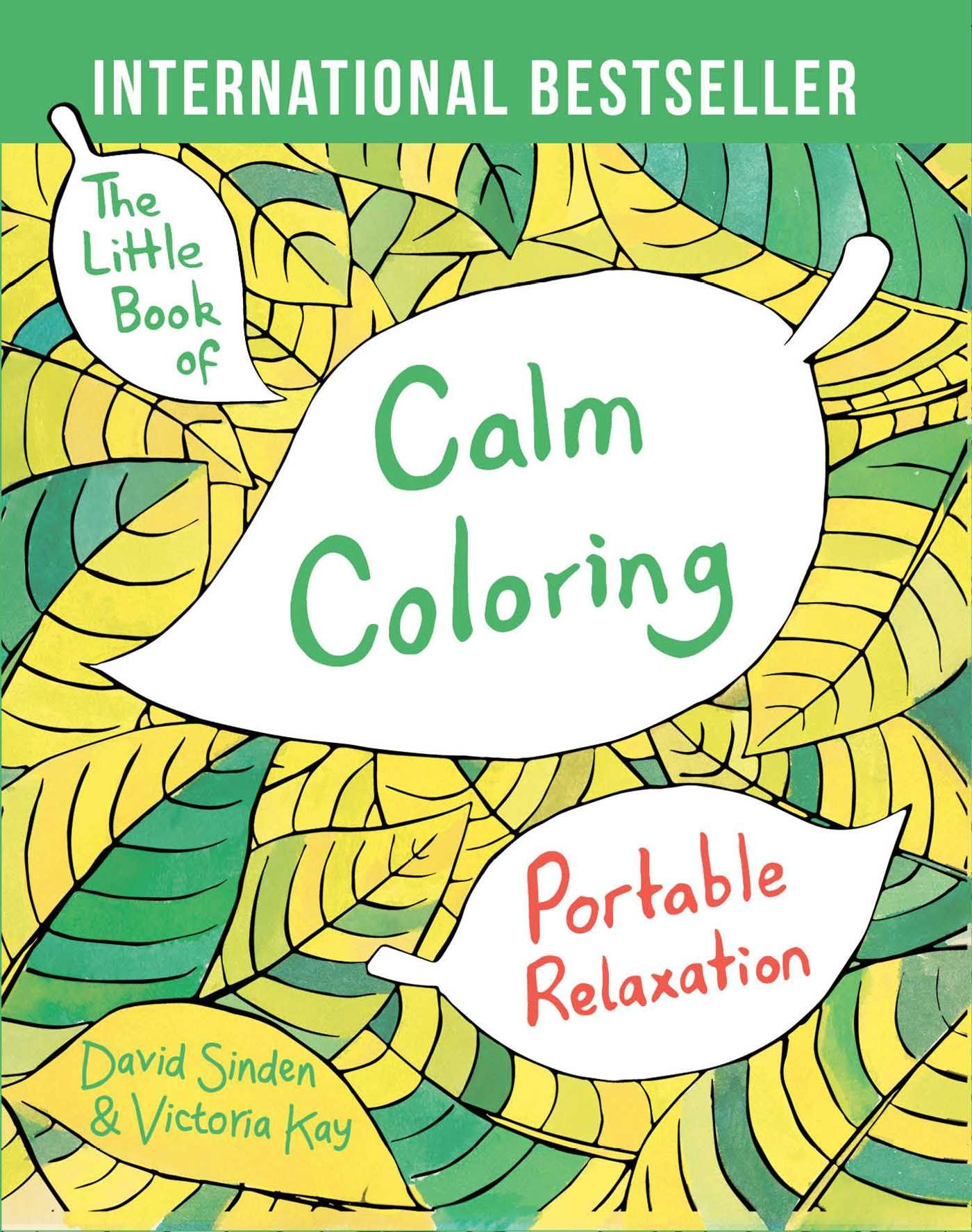 The Little Book of Calm Coloring: Portable Relaxation ebook