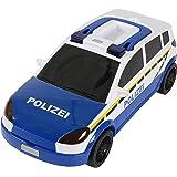 Majorette 212058185 - Carry Car Police, Polizei-Aufbewahrungsbox, 45 cm