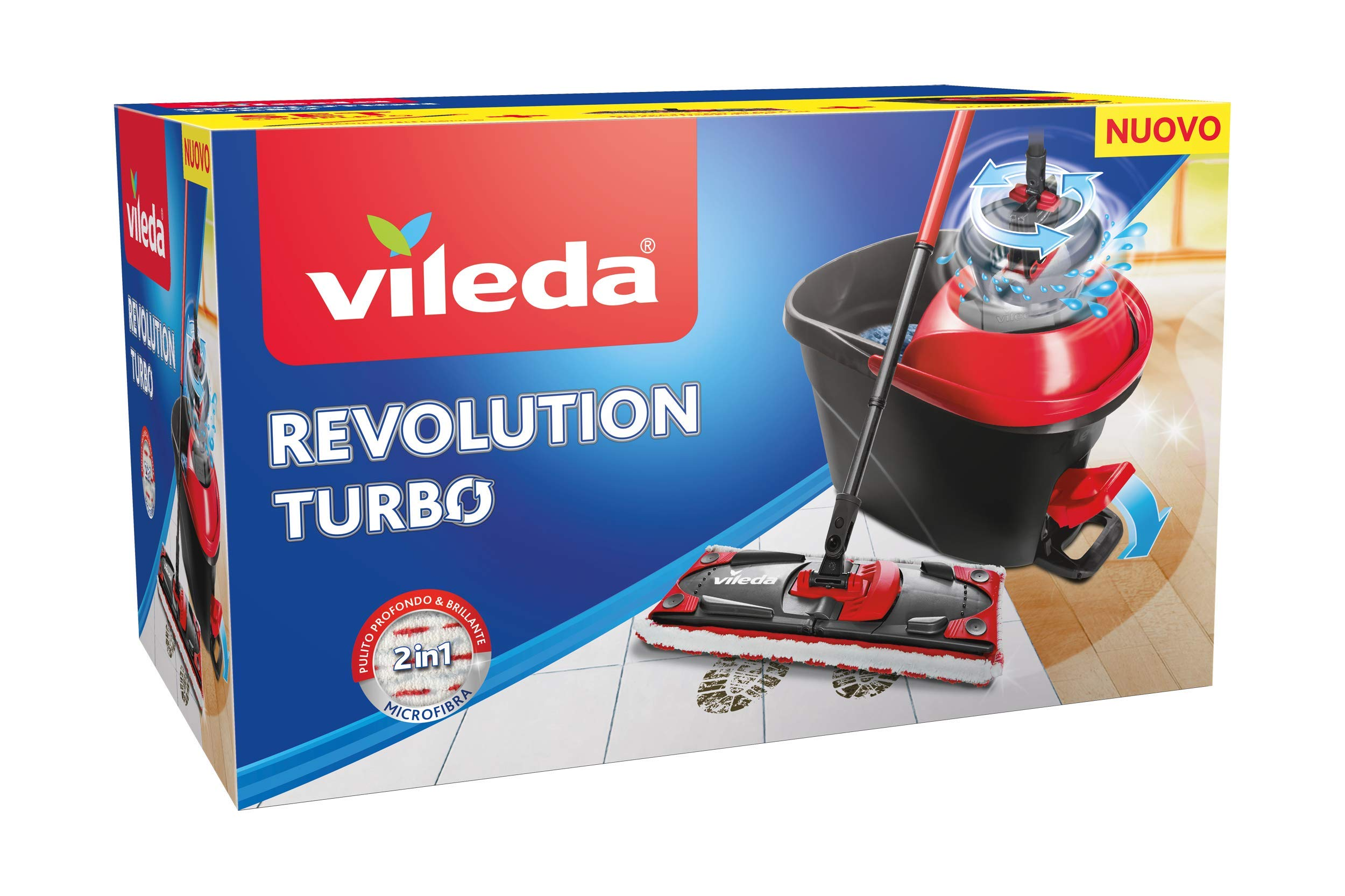 Vileda Ultramat Turbo Flat Mop And Bucket Set Buy Online