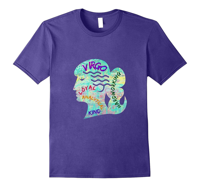 Zodiac Virgo Earth Sign mens womens t-shirt-CL