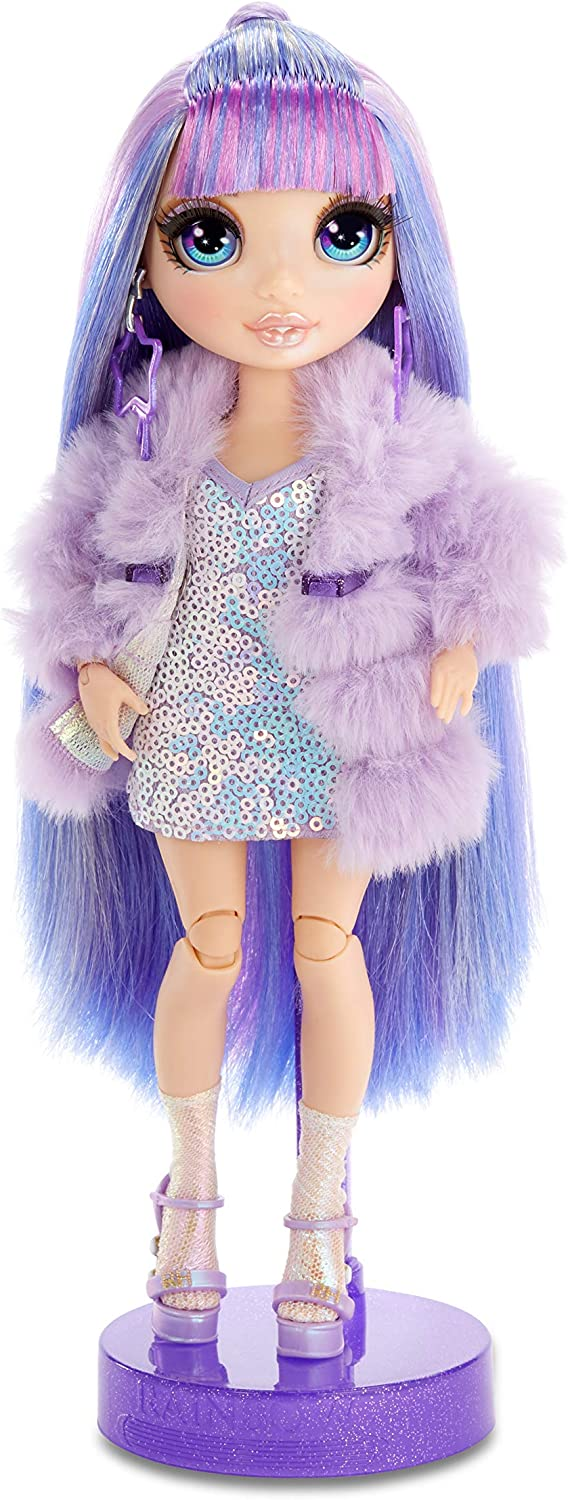 Rainbow Surprise Rainbow High Violet Willow Purple Clothes Fashion Doll 2 Outfit