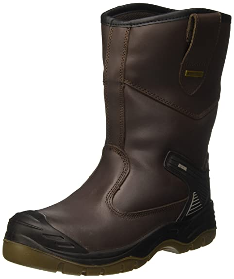 Sterling Safetywear AP305, Botas de Seguridad Unisex Adultos, Marrón, 39 EU