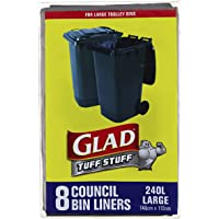 Glad Council Bin Liners, 8 count
