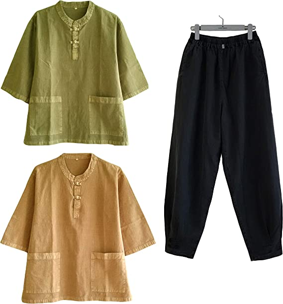 Amazon.com: Altair Hombres Mujeres algodón 100% camisa o ...