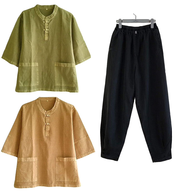 Amazon com : Altair Men Women Cotton 100% Shirt or Pants Zen