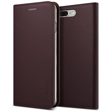 Amazon.com: iPhone 7 Plus Caso, VRS diseño [Piel Auténtica ...
