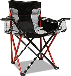 Caravan Sports Elite Quad Chair, Red