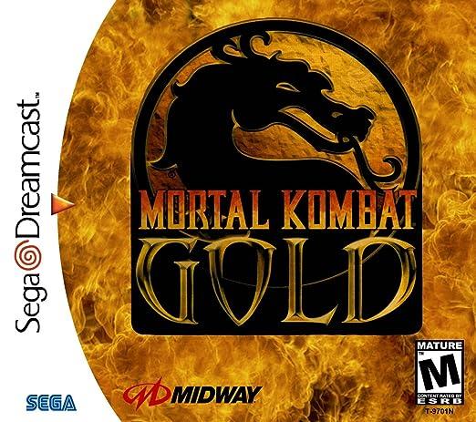 Amazon Com Mortal Kombat Gold Video Games