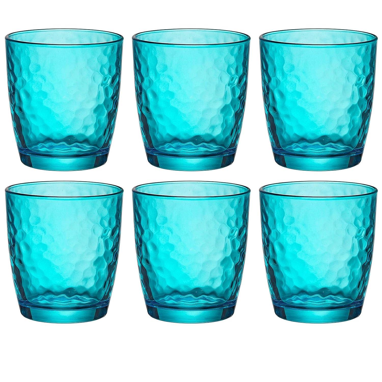Bormioli Rocco Palatina Vasos coloridos - 320ml - Azul - 6 ...