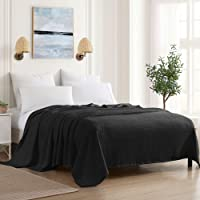 Sweet Home Collection 100% Fine Cotton Blanket Luxurious Breathable Weave Stylish Design Soft and Comfortable All Season…