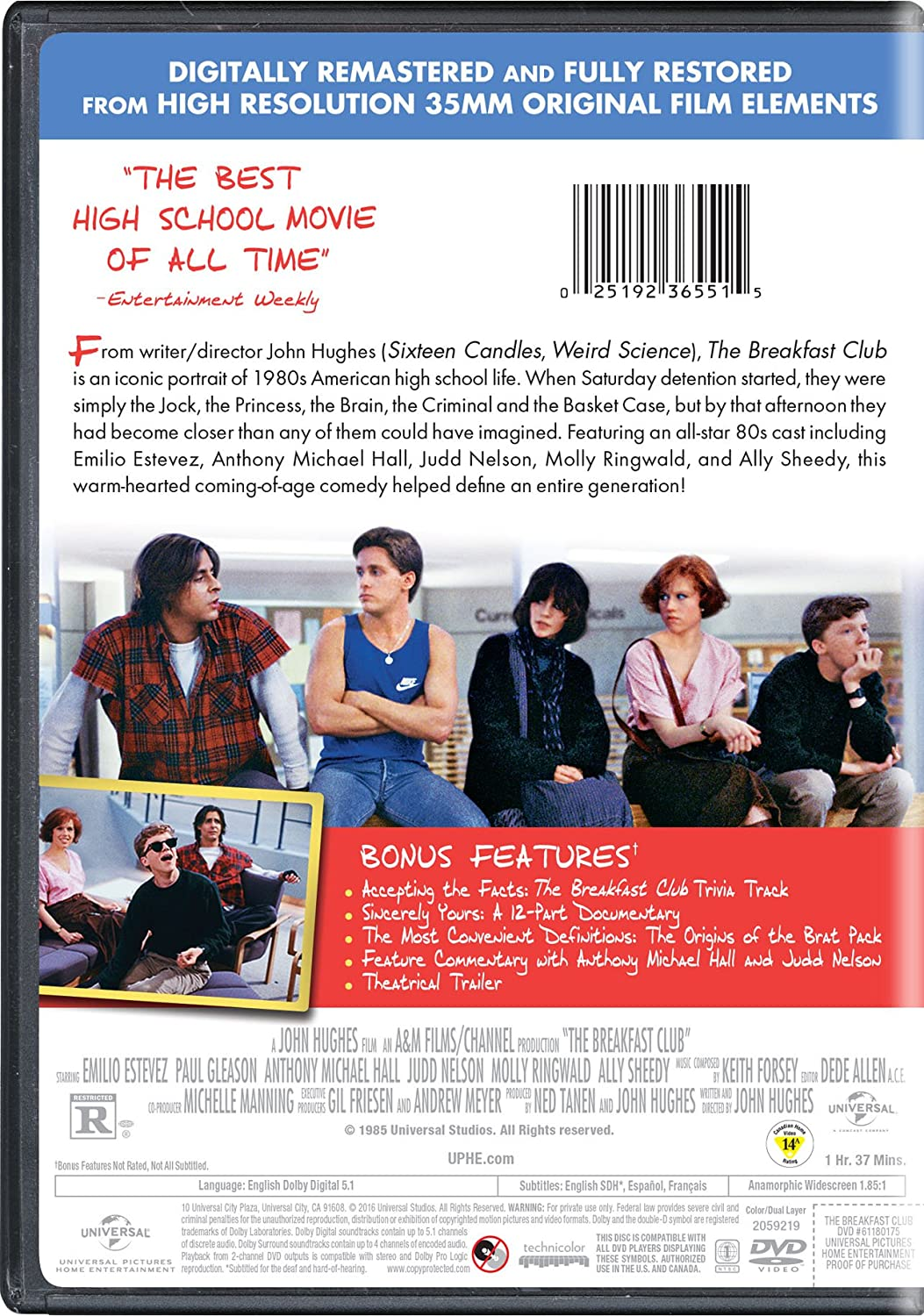 com the breakfast club pop art molly ringwald emilio  com the breakfast club pop art molly ringwald emilio estevez anthony michael hall judd nelson ally sheedy john kapelos paul gleason