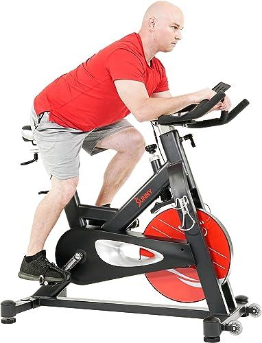 Sunny Health Fitness Evolution Pro II Magnetic Indoor Cycle Exercise Bike