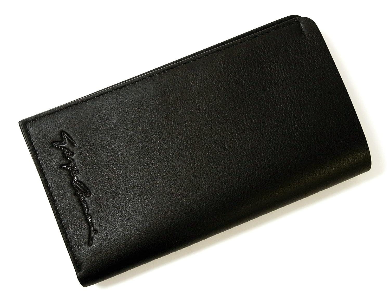 [ジョルジオアルマーニ]Giorgio Armani 長財布 二つ折 (ブラック) A-2463 [並行輸入品] B06XDCBNZ8