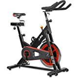 JLL® IC400 ELITE Premium Indoor Cycling exercise bike, Fitness Cardio workout with advanced Belt driving system, 20kg flywheel which allows a smooth ride, Ergonomic adjustable handle bar and fully adjustable seat. 12 months warranty