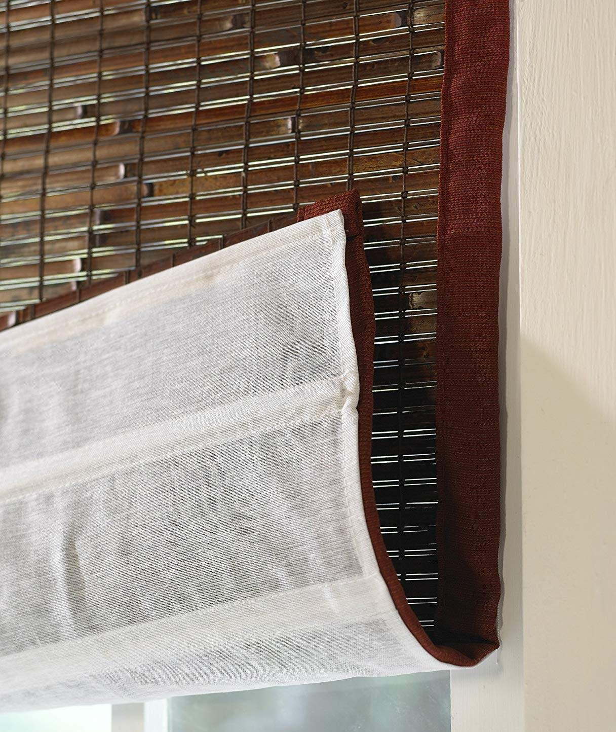 Blinds Emporium Of GA Privacy Liner for Use with Bamboo and Roman Shades (Shade Not Included) by Blinds Emporium Of GA