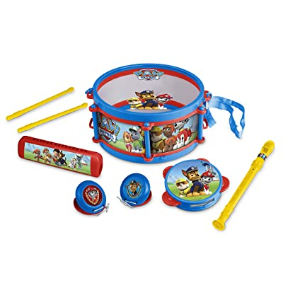 HTI Paw Patrol Pack Away Drum Set: Toys & Games