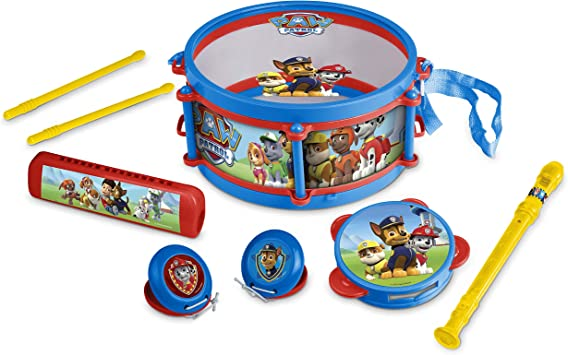 Paw Patrol Musical Band Instrument Set