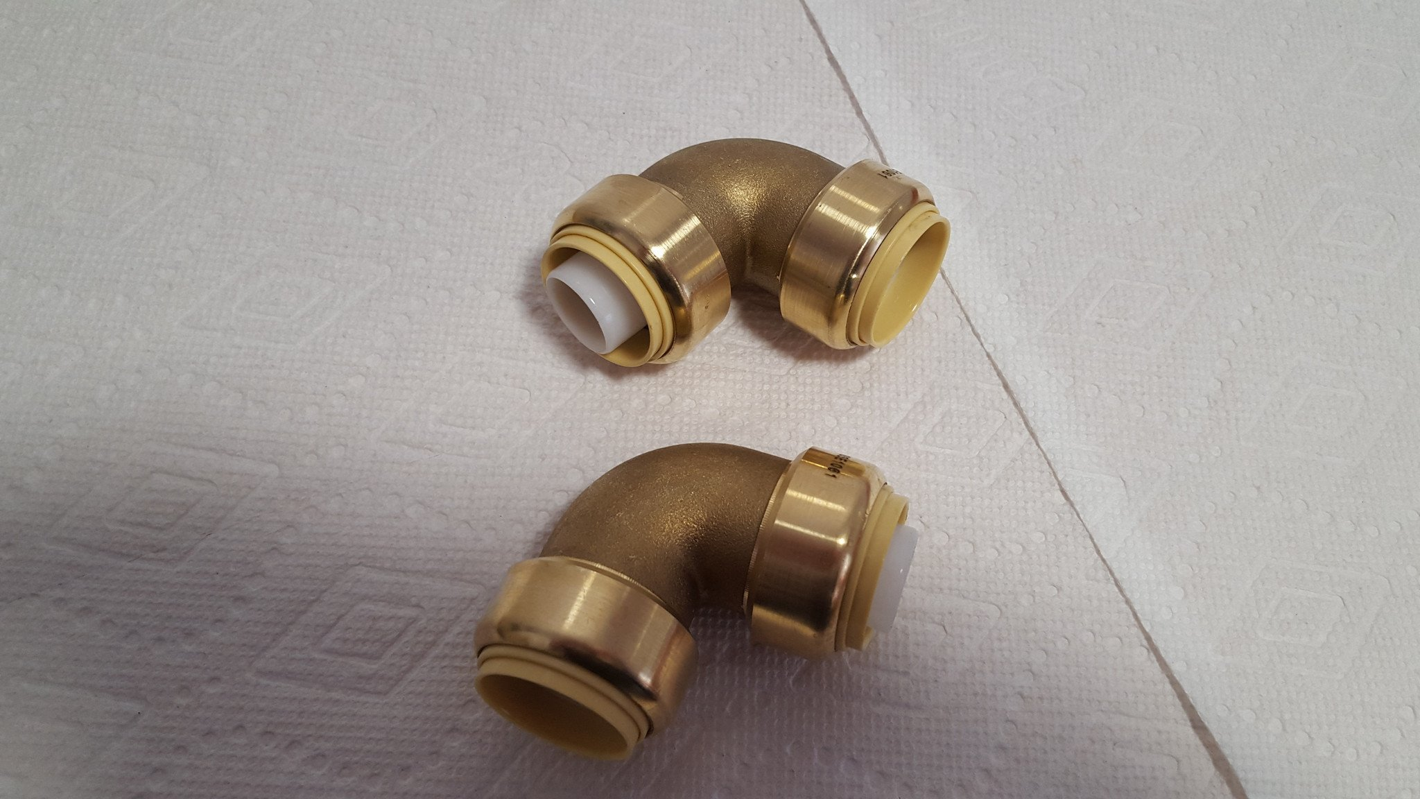 Push Fitting~3/4'' Elbow Bag of 10 Lead Free! by Badger Insulated Pipe (Image #3)