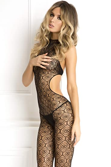 913f2a7f218 Rene rofe womens sexy sheer crochet lingerie jpg 367x550 Rene rofe plus  size bodystockings