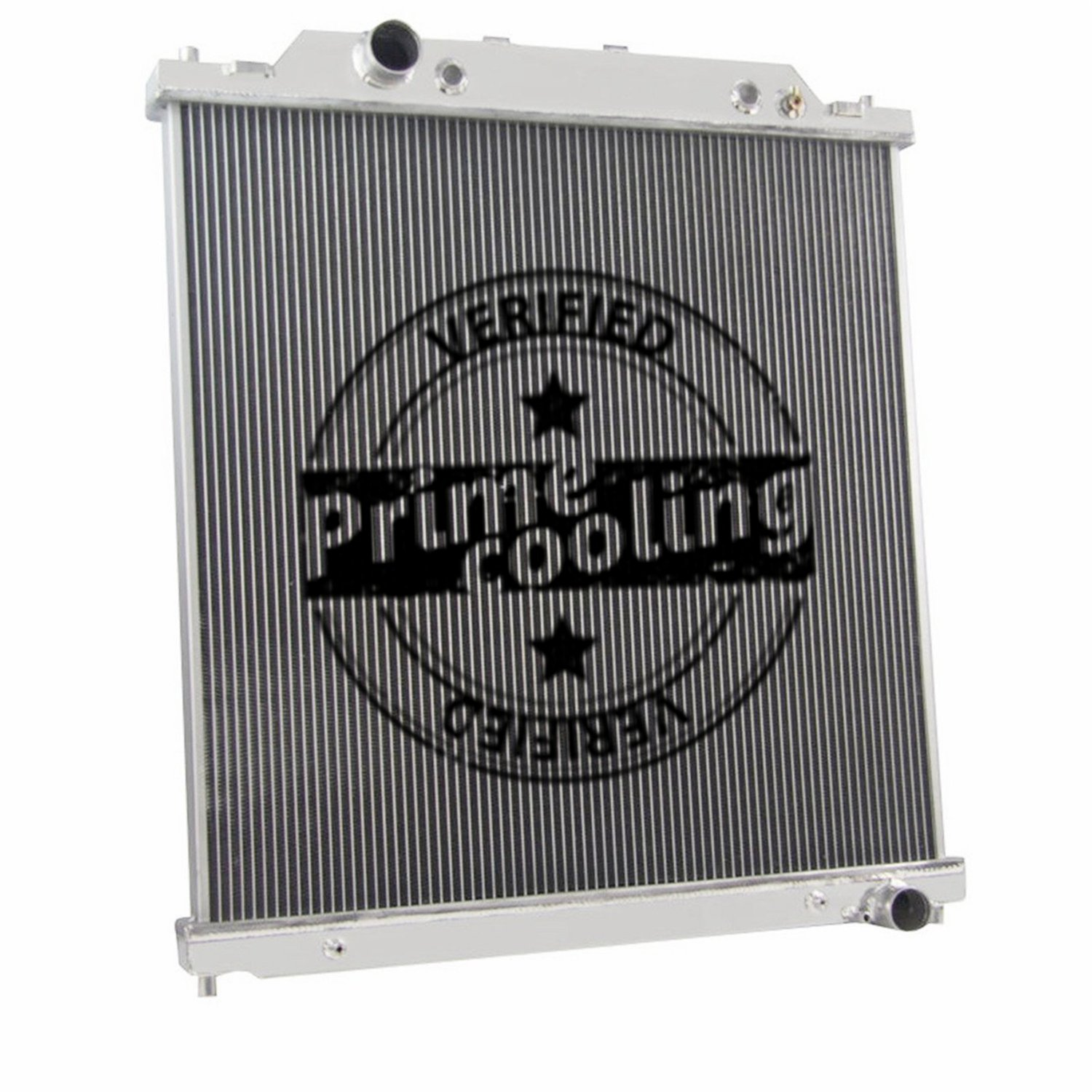 2 Row Dual-Core Aluminum Radiator for Ford F250 /F350 /Excursion 2003-07 (6.0L Turbo Diesel Powerstroke Engine) by Prime Cooling