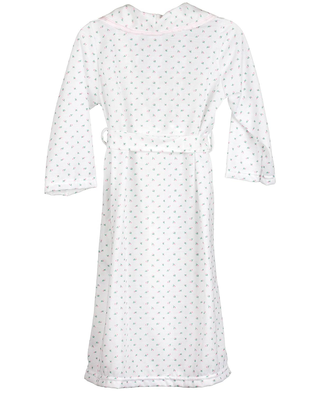 2t Laura Dare Little Girls Rosebud Jersey Bath Robe Wrap 6x