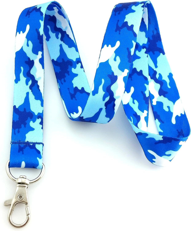 Key Chain Blue Camo