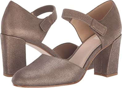 8ecd57766b4 Eileen Fisher Women s Malta Bronze Metallic Suede 7.5 ...