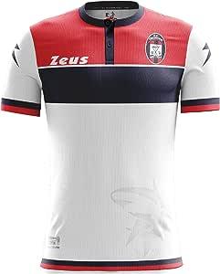 Camiseta oficial 2016/17 Crotone Fútbol Away Zeus, L: Amazon.es ...