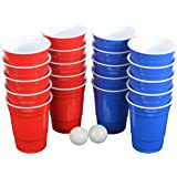 Pro Series Beer Pong Set - With Hard Plastic Melamine 20 Cups!