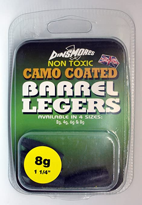 Dinsmores Barrel Legers Coarse Fishing Weights