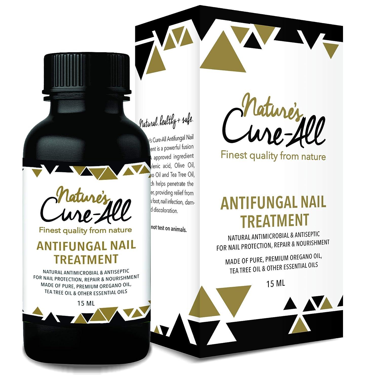 Nail Fungus Treatment (15ml) | Maximum Strength Solution with Undecylenic Acid | 100% Natural & Safe | Antifungal & Antiseptic, Nourish Nails & Reverse Damage