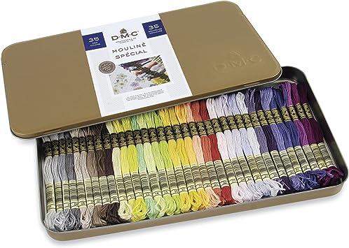 DMC Stranded Cotton Pastel Colours 01-35