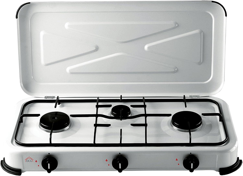DCG FBA_3Y-9NBF-A8KN - Placa de cocción (1500 W)