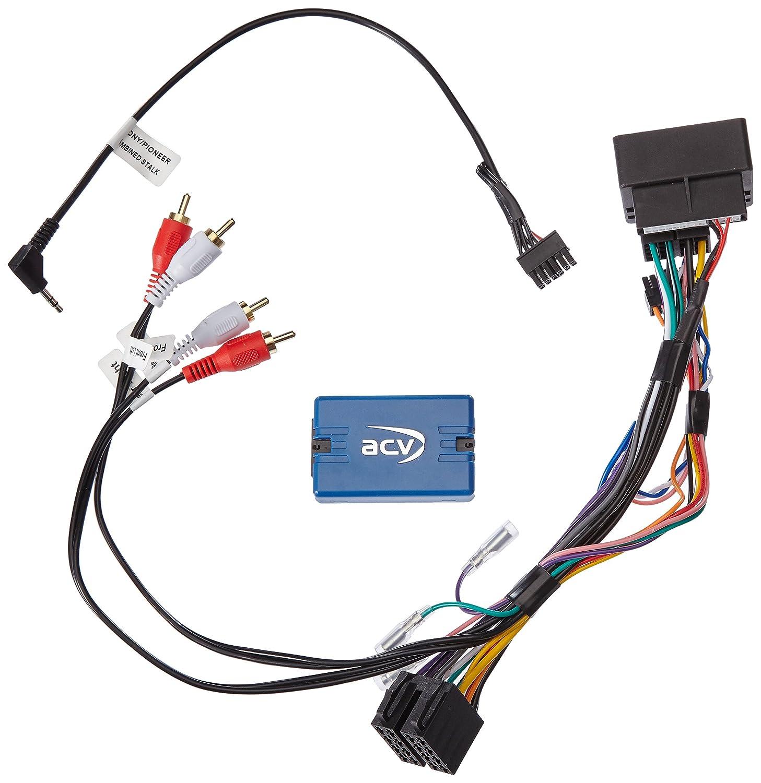 /Ad/ ACV 42/ ≫ 2014, /302//_ 2/Steering Wheel Remote Control Adaptor SWC ≫ Pioneer Audi TT 8J 2006