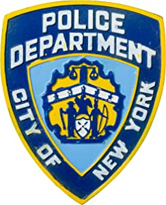 Officially Licensed City of New York Police Department NYPD Souvenir Refrigerator Magnet