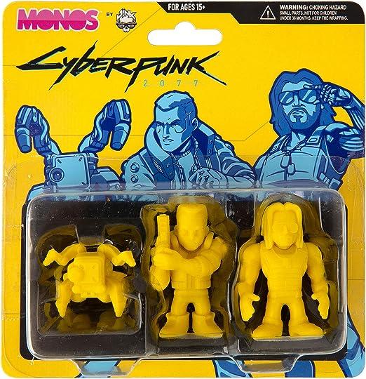 JINX 10669 Cyber Punk Monos Silver Set
