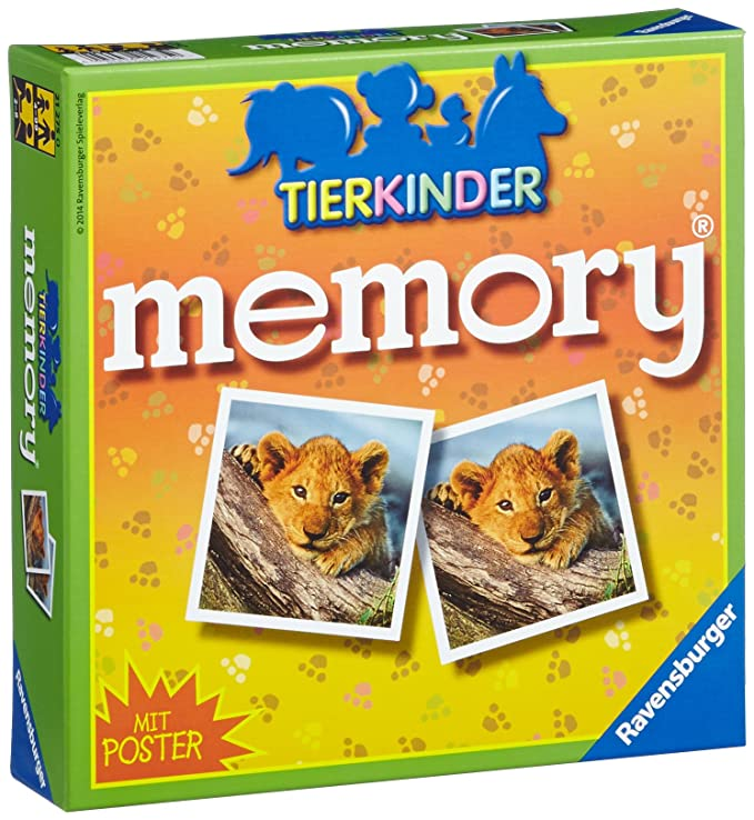 Ravensburger-212750 Juego de Memoria, Multicolor (21275)