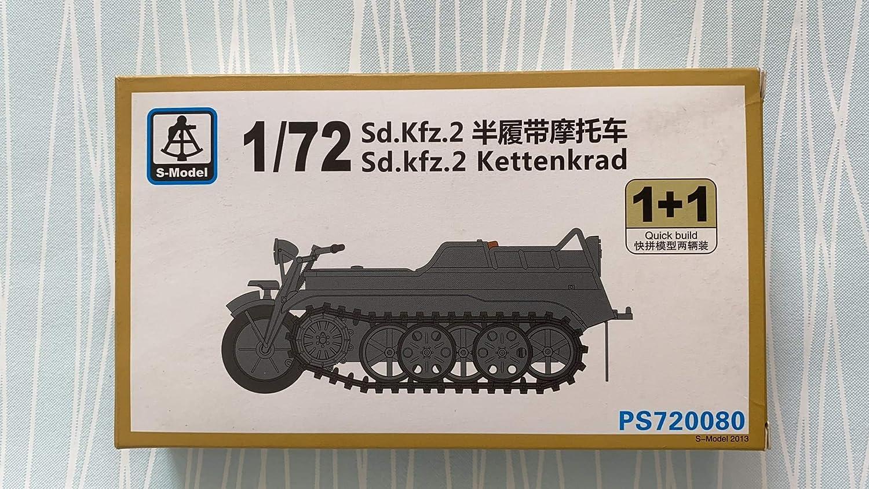 S-model 1//72 PS720080 Sd.Kfz.2 Kettenkrad 1+1