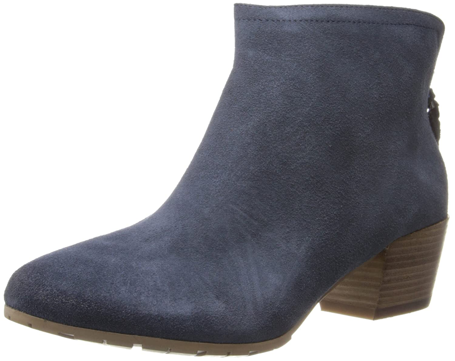 Kenneth Cole REACTION Women's Pil Age Ankle Boot B00IM5BJ8M 6 B(M) US|Navy