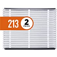Aprilaire 213 Healthy Home Air Filter for Aprilaire Whole-Home Air Purifiers, MERV 13, for Most Common Allergens (Pack of 2)