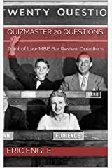 Quizmaster 20 Questions:: Multistate Bar Review Questions (MBE Quizmaster, Point of Law) (Quizmaster Point of Law Book 1) Kindle Edition