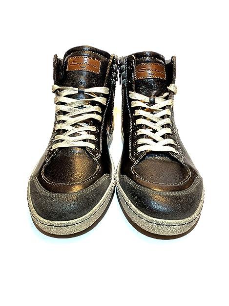 SANTONI Sneakers Uomo Alta  Amazon.it  Scarpe e borse 34875b7a362