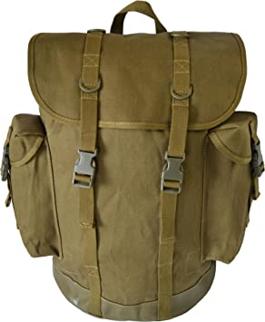 BW German Military Mountain Rucksack Backpack 25L Olive: Amazon.co ...