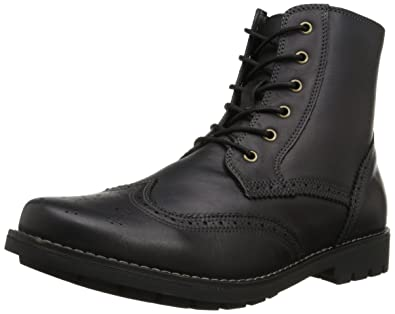Dr. Scholl's Men's Scully Combat Boot, Black, ...