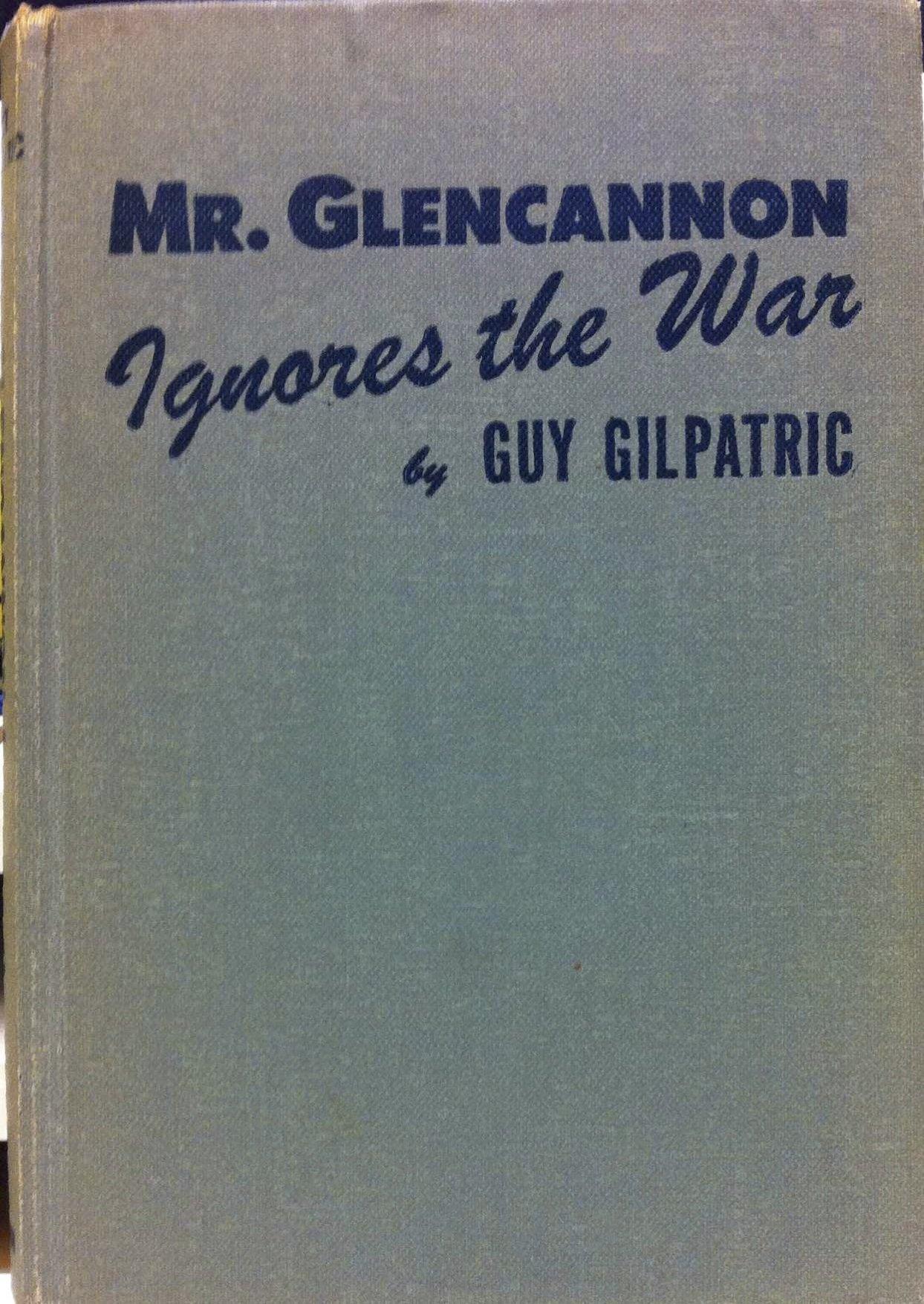 Mr. Glencannon Ignores the War pdf