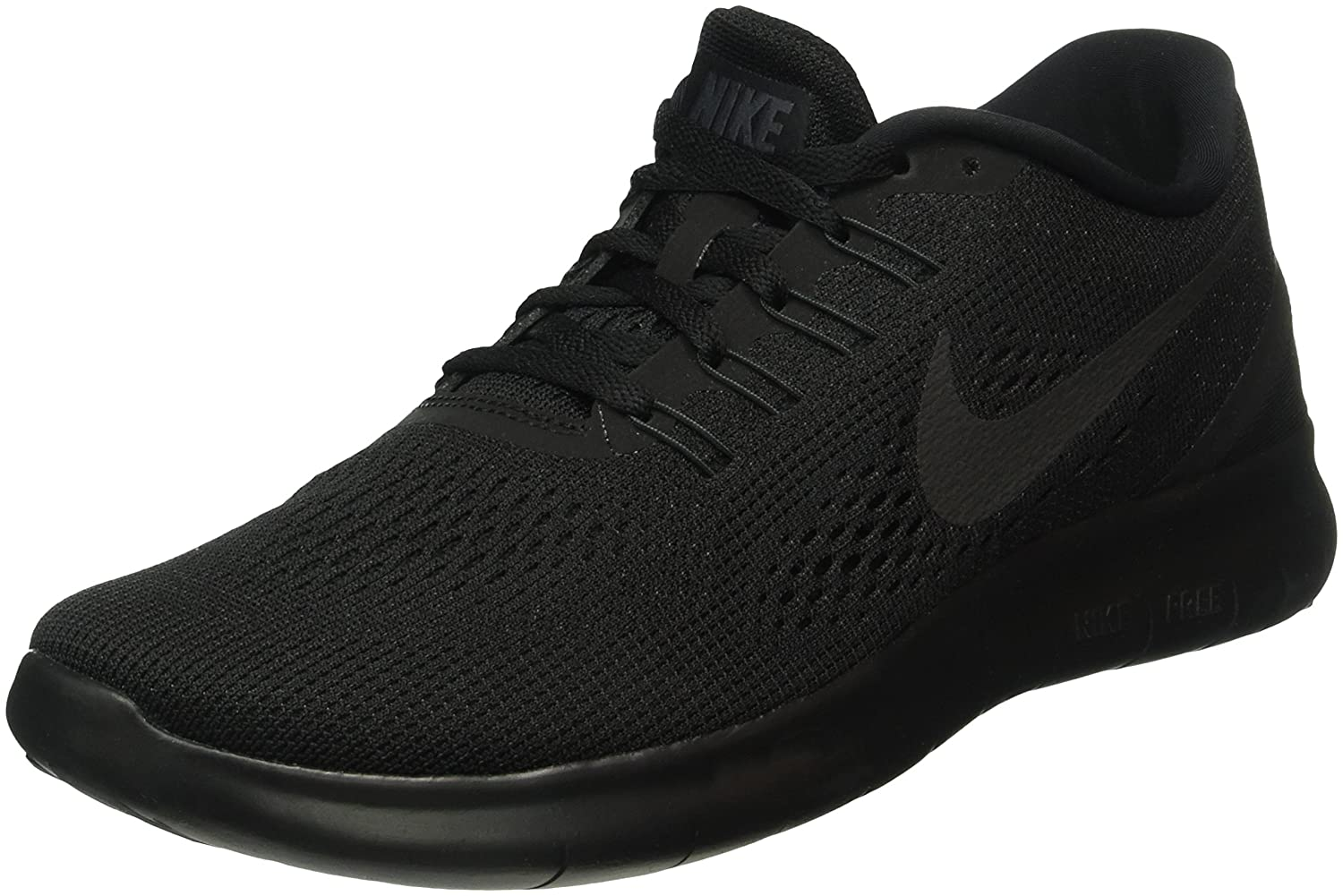 NIKE Men's Free RN Running Shoe B01G9EYYSY 11.5 D(M) US|Black/Black/Anthracite