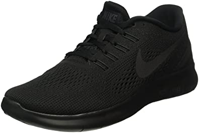 Nike Free Rn, Men's Competition Running Shoes, Negro (Black/Black-Anthracite