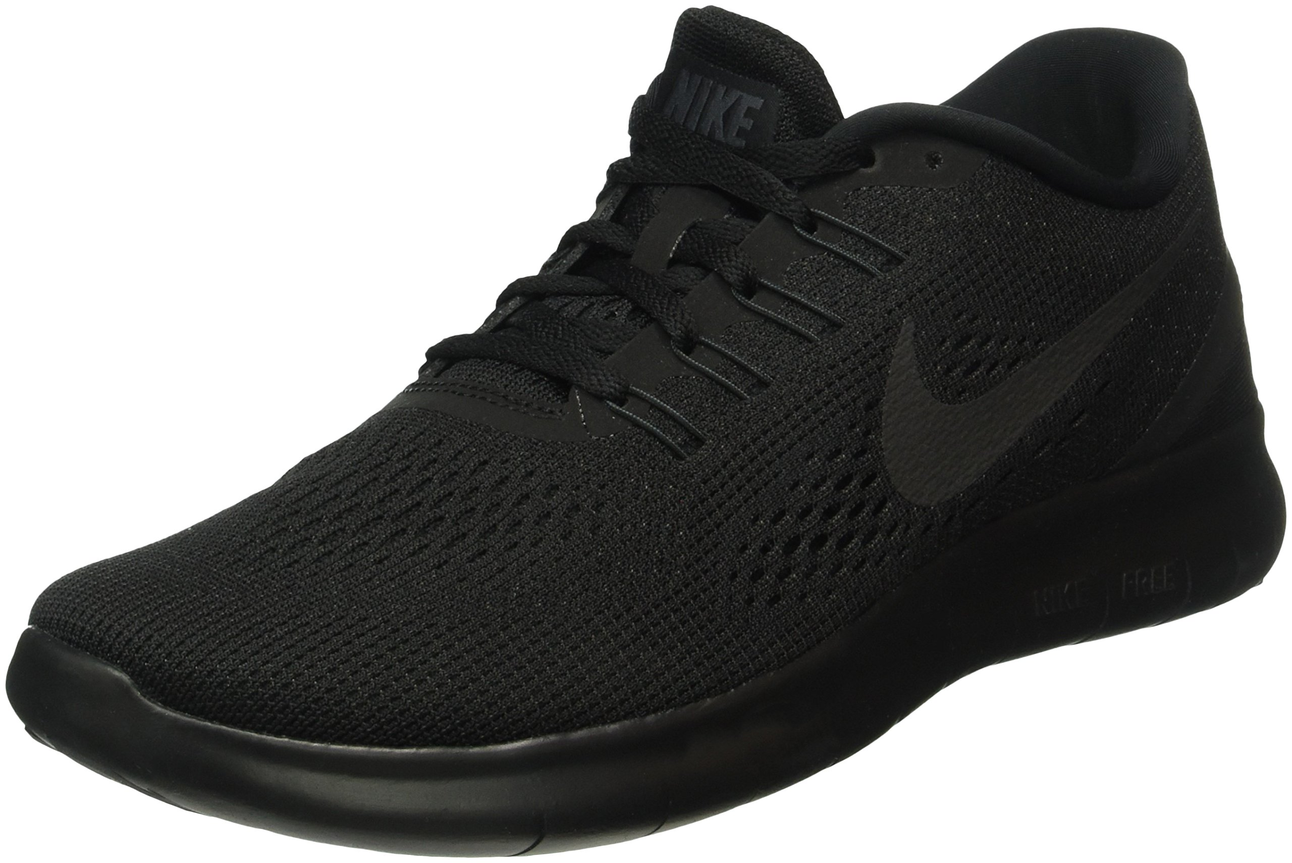 7a762767 Nike Men's Free Rn Black/Black/Anthracite Running Shoe 10.5 Men US