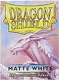 Arcane Tinman Dragon Shield Matte White 100 Protective Sleeves